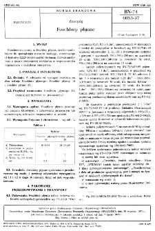 Zoocydy - Foschlory płynne BN-74/6053-27