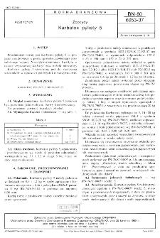 Zoocydy - Karbatox pylisty 5 BN-80/6053-37