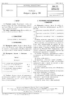 Herbicydy - Antyperz płynny 38 BN-75/6054-02