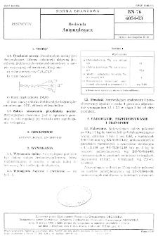 Herbicydy - Antywylegacz BN-76/6054-03