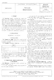 Herbicydy - Gramoxone BN-87/6054-06