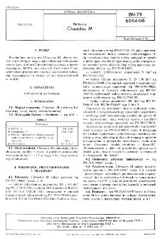 Herbicydy - Chwastox M BN-79/6054-08