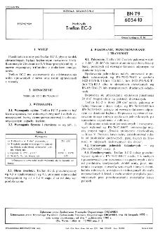 Herbicydy - Treflan EC-2 BN-79/6054-10