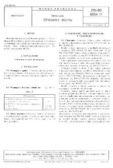 Herbicydy - Chwastox płynny BN-80/6054-11