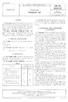 Fungicydy - Miedzian 50 BN-86/6055-02