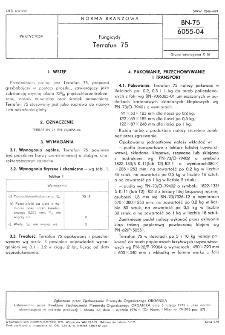 Fungicydy - Terrafun 75 BN-75/6055-04