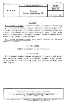 Fungicydy - Kaptan zawiesinowy 50 BN-75/6055-05