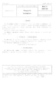 Fungicydy - Sadoplony BN-75/6055-06