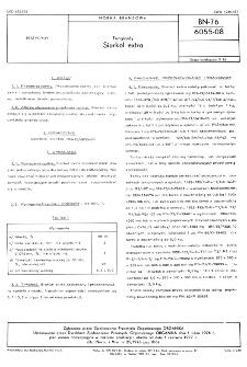 Fungicydy - Siarkol extra BN-76/6055-08