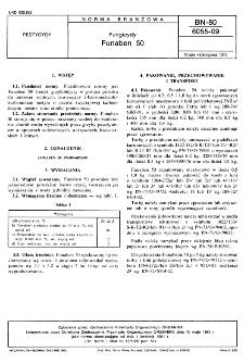 Fungicydy - Funaben 50 BN-80/6055-09