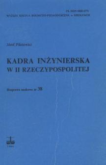 Kadra inżynierska w II Rzeczypospolitej
