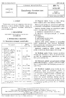 Zasadowy dwusiarczan ołowiawy BN-76/6016-09