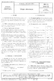 Glejta ołowiowa BN-72/6046-02