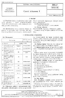 Czerń żelazowa I BN-67/6046-06