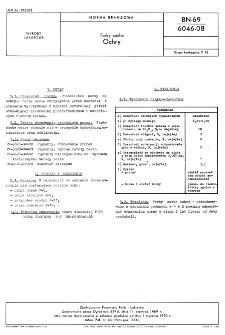 Farby suche - Ochry BN-69/6046-08