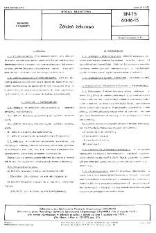 Żółcień żelazowa BN-75/6046-15