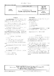 Prezerwatywy gumowe - Ogólne wymagania i badania BN-79/6663-02