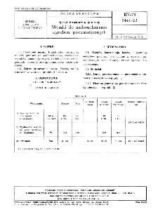 Sprzęt turystyczny gumowy - Mieszki do nadmuchiwania wyrobów pneumatycznych BN-78/8441-22
