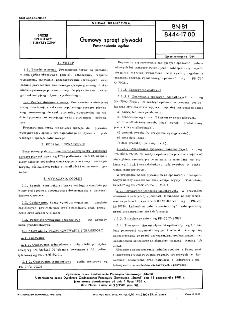 Gumowy sprzęt pływacki - Postanowienia ogólne BN-81/8444-17.00