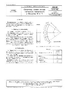 Okładziny cierne szczęk hamulców bębnowych z tłoczywa W-5-11 BN-86/5410-08