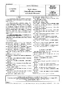 Wyroby azbestowe - Uszczelki pierścieniowe azbestowo-blaszane BN-69/5410-10