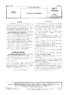 Przędza azbestowa BN-77/7599-03