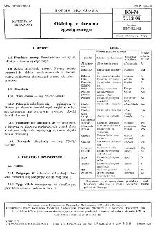 Okleiny z drewna egzotycznego BN-74/7112-05