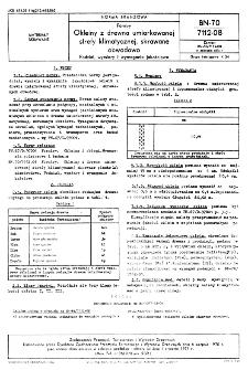 Forniry - Okleiny z drewna umiarkowanej strefy klimatycznej, skrawane obwodowo- Podział, wymiary i wymagania jakościowe BN-70/7112-08