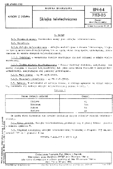 Sklejka teletechniczna BN-64/7113-05