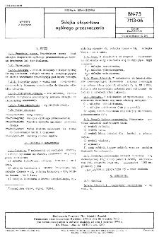 Sklejka eksportowa ogólnego przeznaczenia BN-73/7113-06