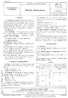 Sklejka okleinowana BN-68/7113-12
