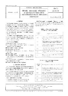 Metody oznaczania własności przerobowych kauczuków i niewulkanizowanych mieszanek gumowych BN-72/6031-04
