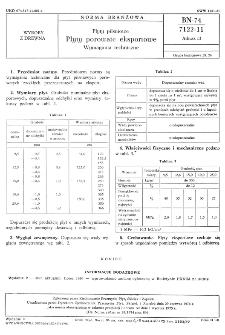 Płyty pilśniowe - Płyty porowate eksportowe- Wymagania techniczne BN-74/7122-11 Arkusz 13