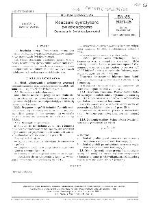 Kauczuki syntetyczne światłoodporne - Oznaczanie światłoodporności BN-88/6031-05