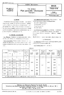 Płyty pilśniowe - Płyty porowate-bitumowane - Wymagania BN-81/7122-11.16