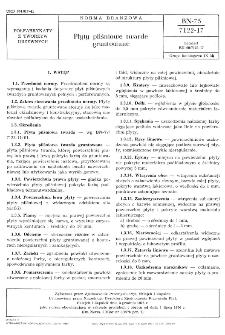 Płyty pilśniowe twarde gruntowane BN-75/7122-17