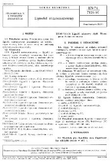 Lignofol samosmarowny BN-74/7126-01