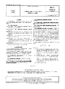 Niewulkanizowane płyty antykorozyjne - Metody badań BN-74/6616-15 Arkusz 06