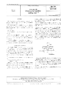 Guma porowata - Oznaczanie twardości według skali F BN-78/6631-01