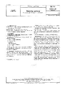 Niewulkanizowane płyty antykorozyjne - Metody badań BN-71/6663-03 Arkusz 02