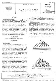 Płyty stolarskie komórkowe BN-74/7129-01