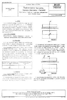 Tapicerowane tapczany, kanapy-tapczany i leżanki - Wymagania i badania w zakresie wytrzymałości oraz odkształcalności BN-69/7103-04