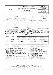 Obuwie gumowe i z tworzyw sztucznych - Wielkości i cechowanie BN-90/7747-06