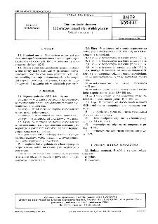 Górnicze środki strzałowe - Górnicze zapalniki elektryczne - Podział i oznaczenie BN-79/6094-41