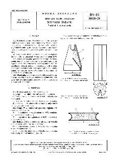 Górnicze środki strzałowe - Górnicze ładunki - Podział i oznaczenie BN-80/6096-05