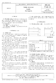 Meble sklepowe - Lady - Wymagania BN-88/7146-12