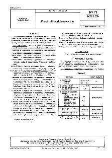 Proch nitrocelulozowy 5,6 BN-71/6093-26