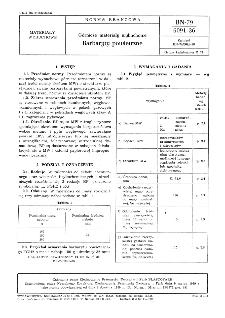 Materiały wybuchowe górnicze - Barbaryty powietrzne BN-79/6091-36
