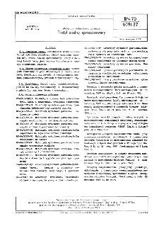 Materiały wybuchowe górnicze - Trotyl skalny sproszkowany BN-70/6091-37