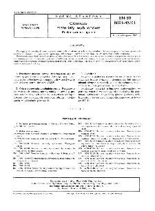 Górnicze materiały wybuchowe - Postanowienia ogólne BN-89/6091-45/01